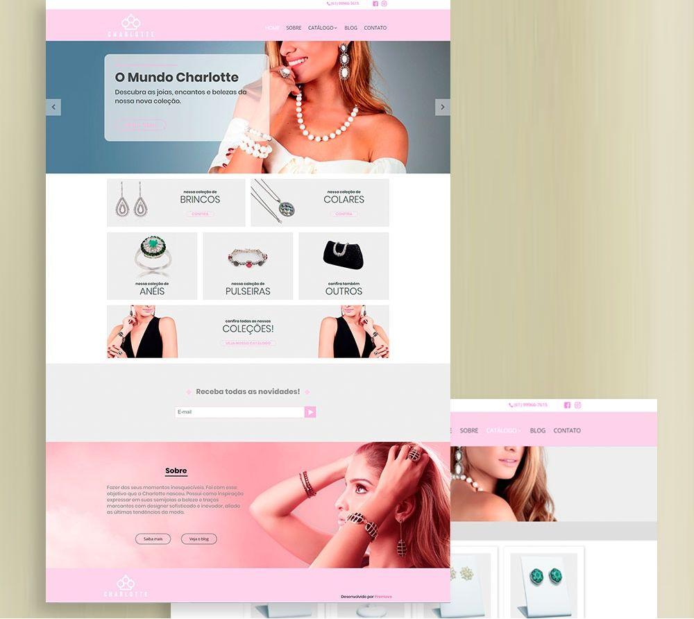 Charlotte Joias - Website