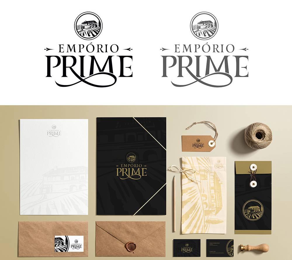 Empório Prime - Identidade Visual
