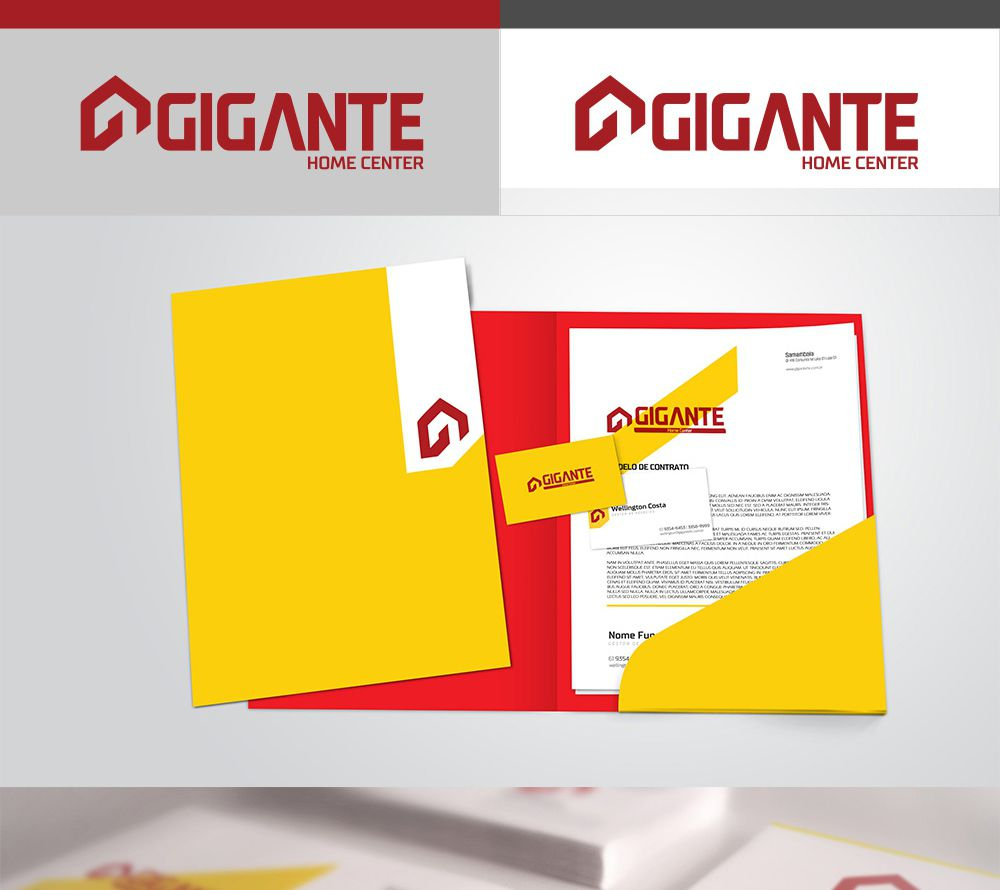 Gigante Home Center - Redesign da Marca