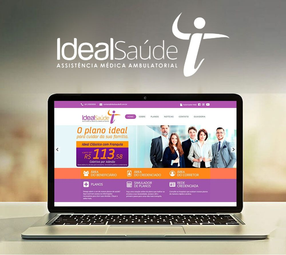 Ideal Saúde - Website