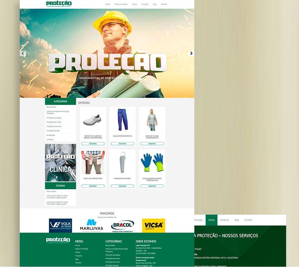 Proteção - Website
