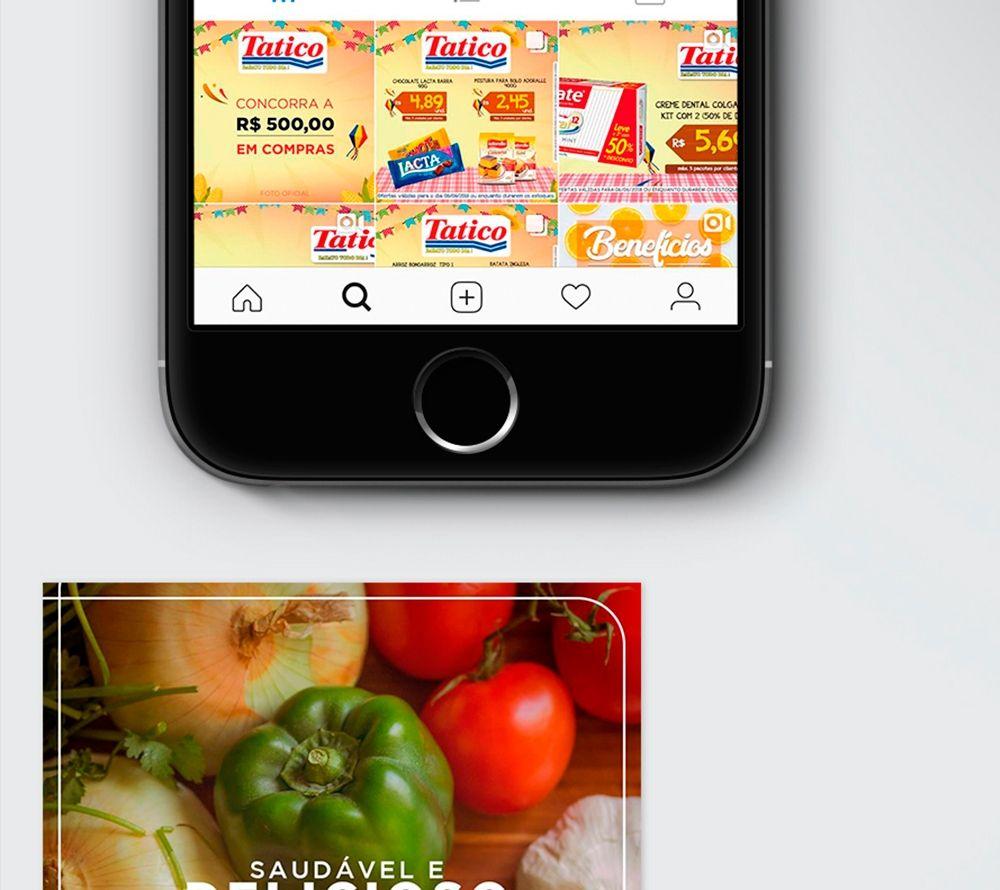 Supermercados Tatico - Redes Sociais